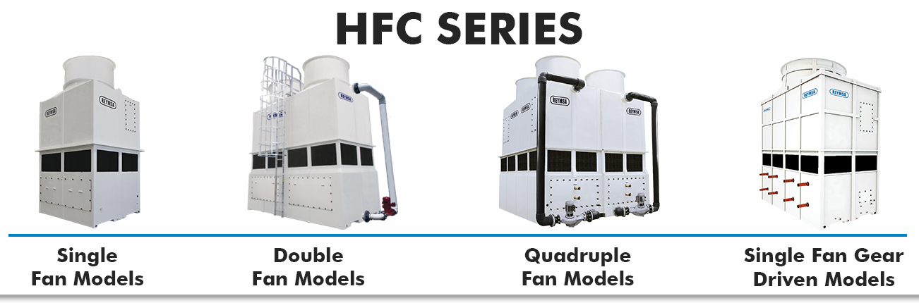 HFC Series Closed Circuit Fluid Cooler